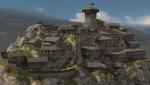 Le château de Montségur (Ariège)
