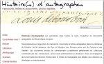 Histoire(s) d'autographes