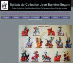 FIGURINES-SOLDATS DE COLLECTION JEAN BARRIERE