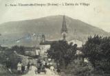 Histoire et patrimoine de Saint-Vincent la Commanderie (Drôme)