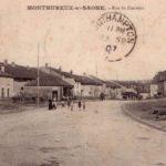 Histoire et patrimoine de Monthureux sur Saône (Vosges)