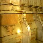 Les stalles de l'église de Bommiers (Indre)