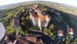 Le château de Chalus (Puy de Dôme)