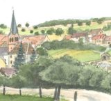 Histoire et patrimoine d'Hirschland (Bas-Rhin)
