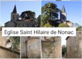 Eglise Saint Hilaire de Nonac (Charente)