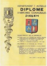 Histoire et patrimoine de Diesen (Moselle)