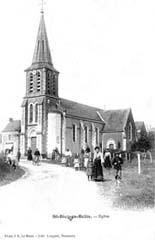 Histoire et patrimoine de Saint Biez en Belin (Sarthe)