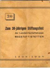 Histoire et patrimoine de Magstatt le Haut (Haut-Rhin)